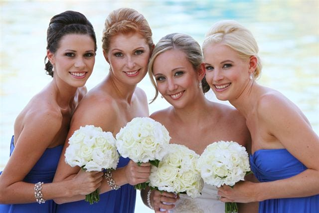 Bridal Party Hair and Makeup Gold Coast
